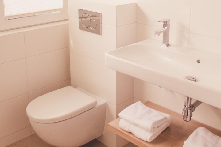 Badezimmer Ferienhaus Noordwijk